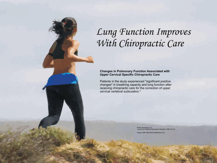 Lung Function Improves With Chiropractic Care